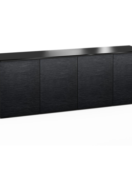 Salamander Designs Chicago 347, AV Cabinet, Black Oak