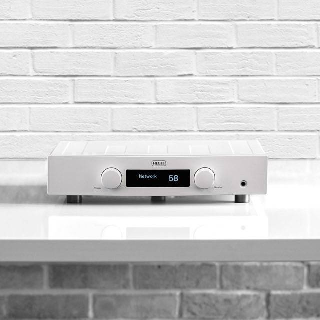 Hegel Röst, Integrated Amplifier, White