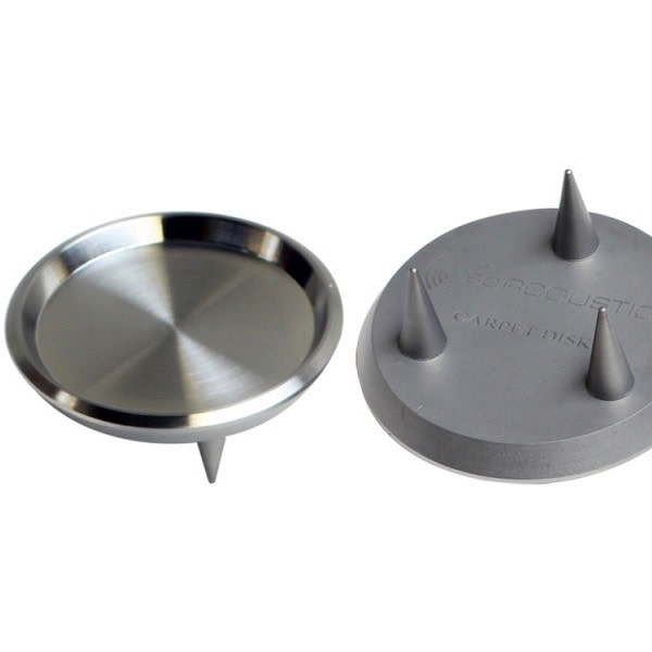 IsoAcoustics Gaia Carpet Spikes/Disk (Pack of 4)