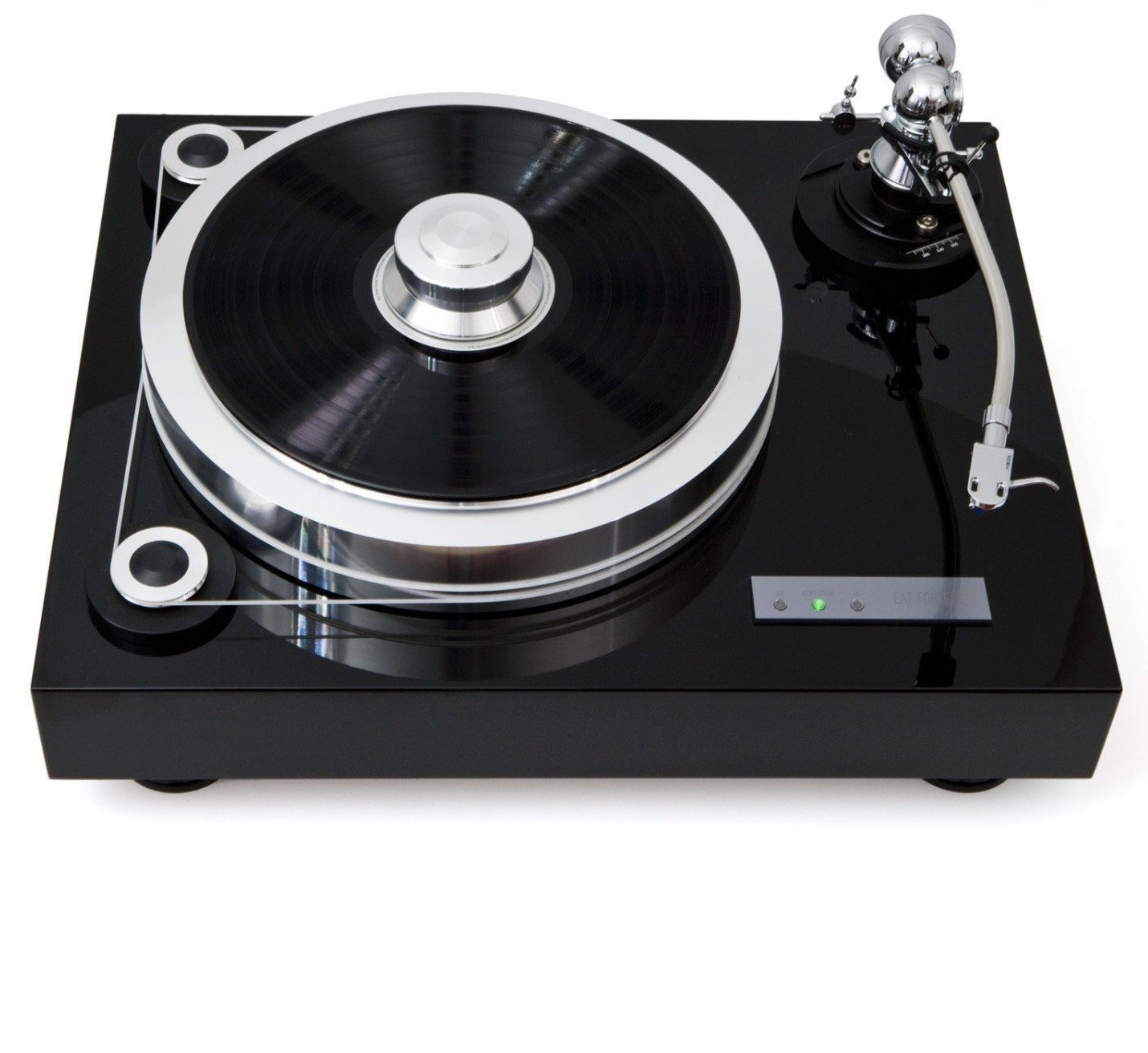 EAT European Audio Team Fortissimo Piano Black Turntable