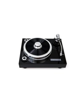 EAT Forté S Piano Black Turntable
