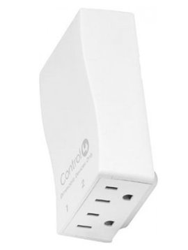 Control4 Wireless Outlet Dimmer, LOZ-5D1-WH