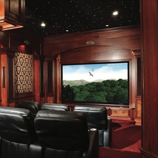 """Stewart Filmscreen 135"""" 4K ready Deluxe Screen Wall, 1.78:1 Aspect Ratio"""