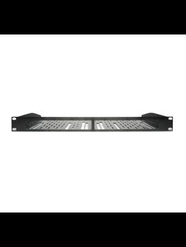 Control4 1U Rack Mount Kit, Dual EA-1 Controllers, C4-EA1RMK2-BL