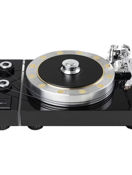 EAT European Audio Team Fortissimo Macassar Turntable