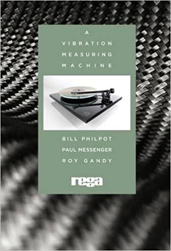 "Rega Research ""A Vibration Measuring Machine"" Book"