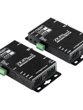 Zigen HDMI Extender Kit over CAT5/6, 2K, 4K & IR, 70 Meters