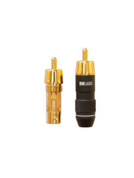 DH Labs RCA Plug fits Sub-Sonic II and Cables up to 6.5MM, RCA-650