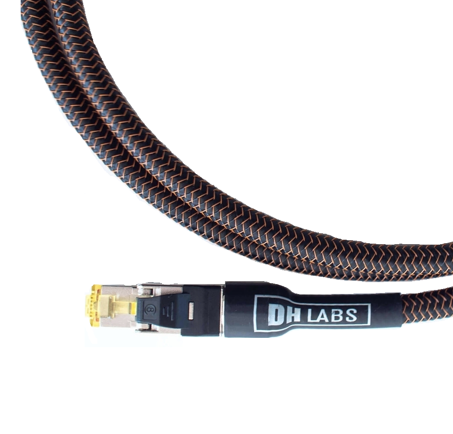 DH Labs Silver Sonic Reunion Cat 8 Ethernet Cable