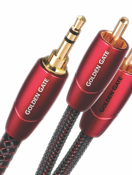 AudioQuest Golden Gate 3.5MM to RCA Analog-Audio Cable