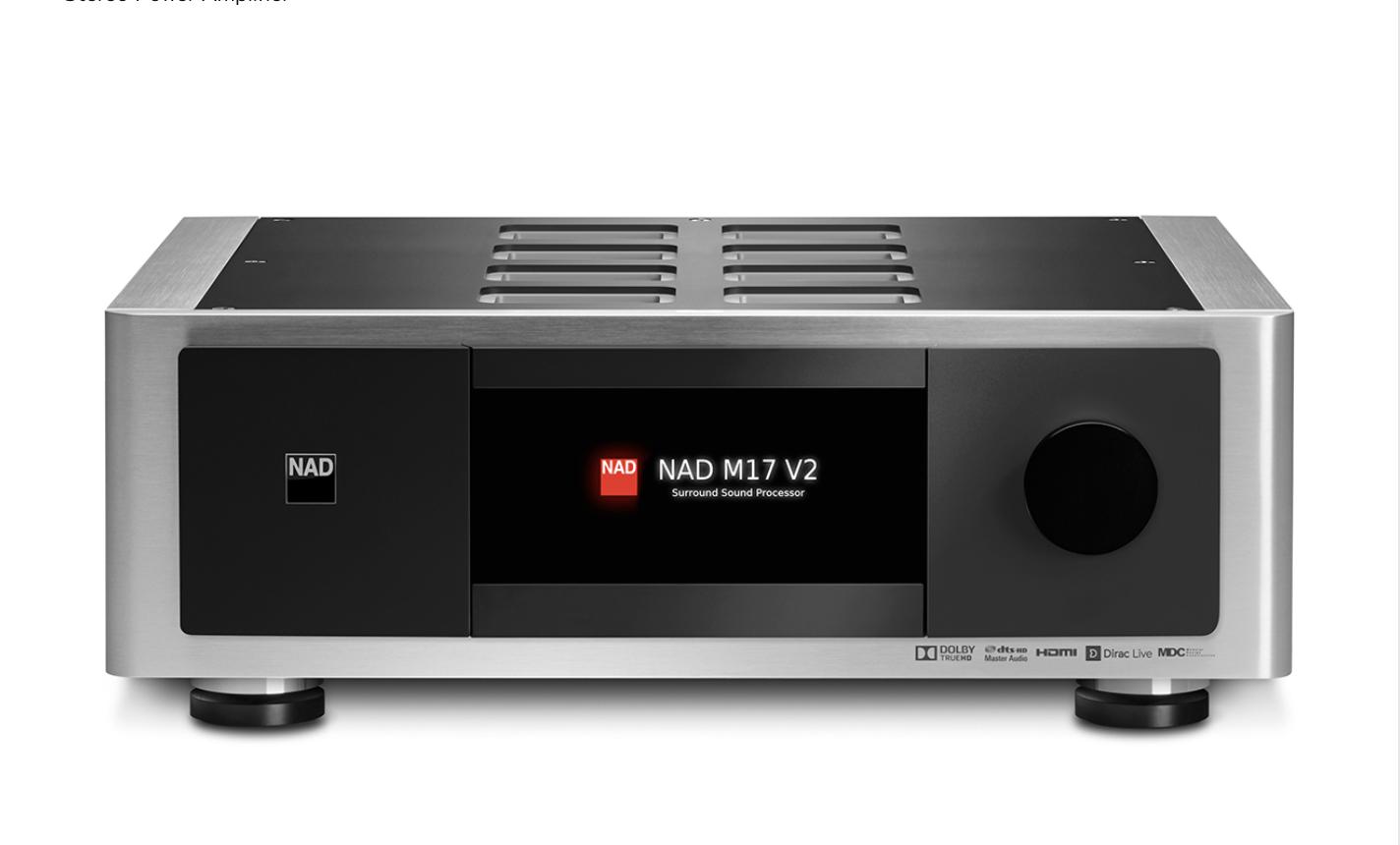 NAD M17 V2i AV Surround Sound Preamp
