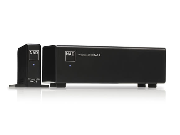 NAD DAC 2 - Wireless USB Digital to Analog Converter