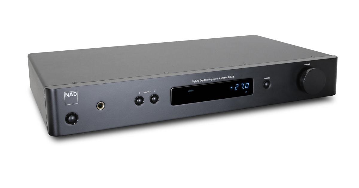 NAD C 338 Integrated Amplifier, WiFi Enabled (2 x 50 watt)
