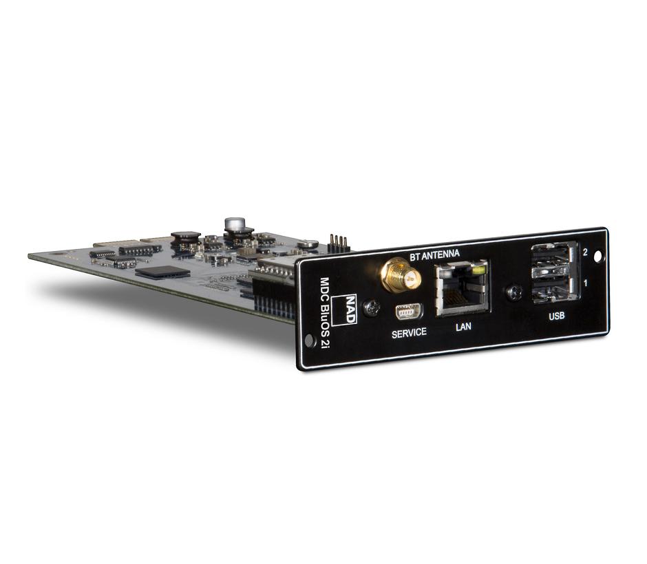 NAD MDC BluOS-2i Streaming Music Module, Bluetooth & Wifi Certified