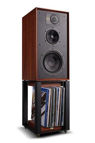 "Wharfedale Linton 8"" 3-way Bookshelf Speaker with Stand"