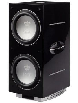REL Acoustics 212 / SX Subwoofer, Piano Black, New Model