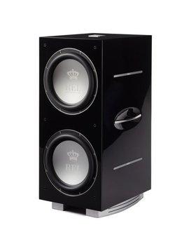 REL Acoustics 212/SX Subwoofer, Piano Black, New Model