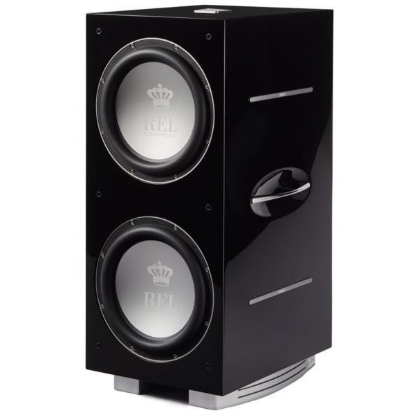 REL Acoustics 212/SX Subwoofer, Piano Black, New Model
