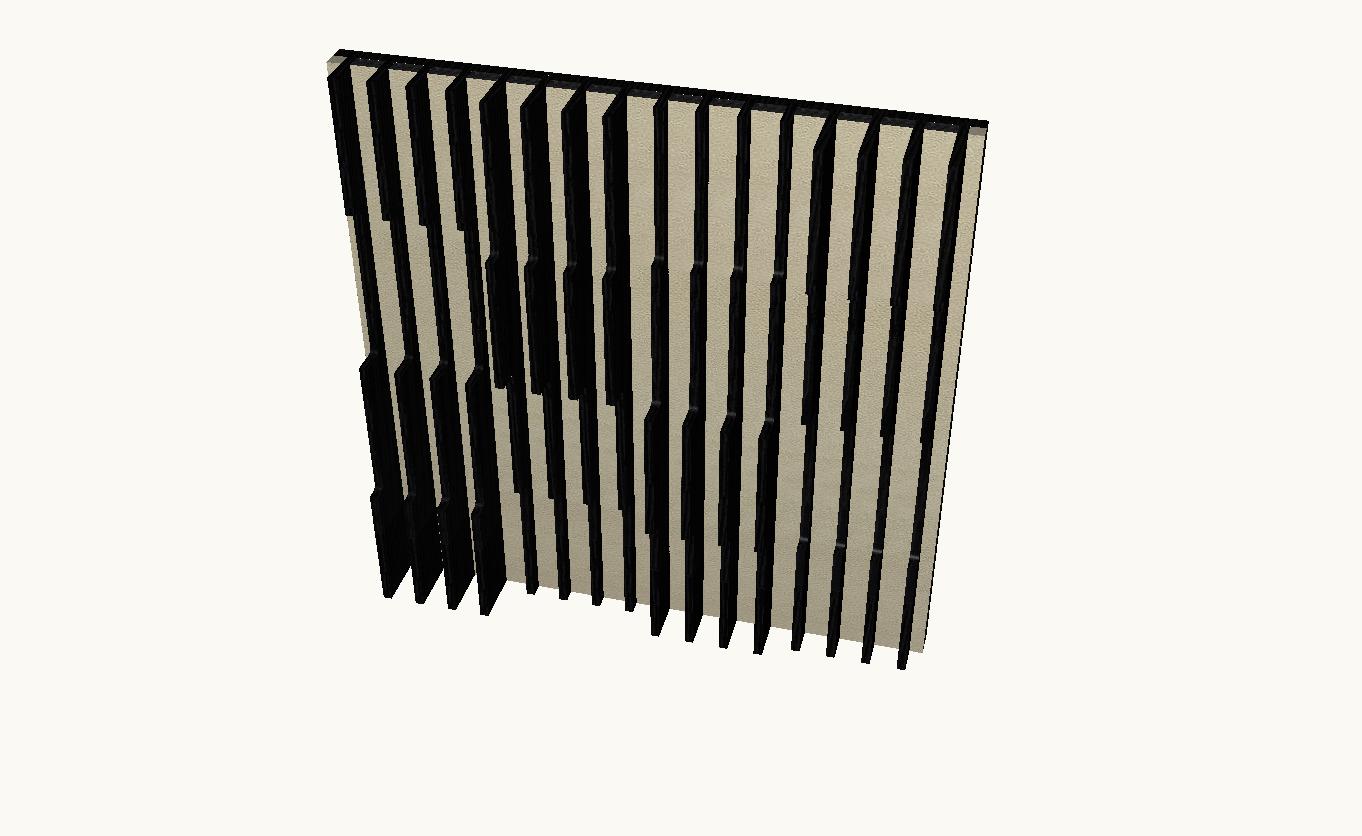 Artnovion Acoustics Atlantis Flow Absorber ( Wenge / Suede )