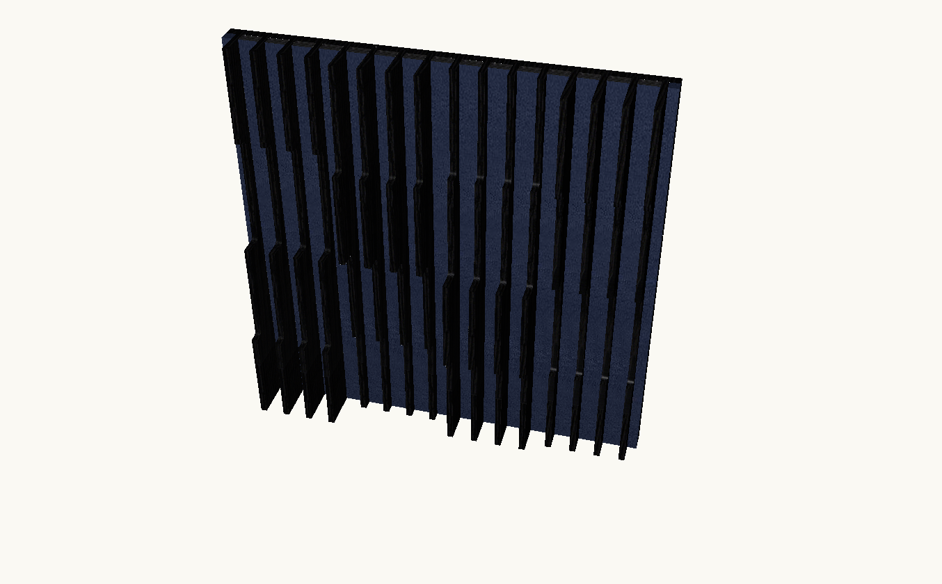 Artnovion Acoustics Atlantis Flow Absorber (Wenge/Suede)