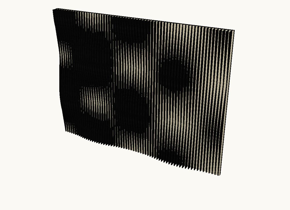 Artnovion Acoustics Avalon Flow Absorber ( Wenge / Suede )