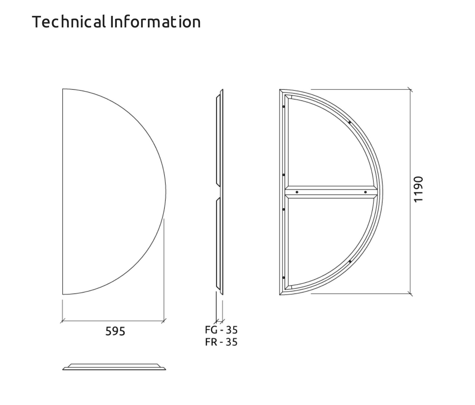 Artnovion Acoustics Azores Semi CIR Absorber ( Weave )