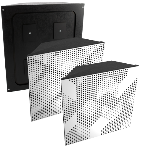 Artnovion Acoustics Komodo Bass Trap Corner ( Painted )