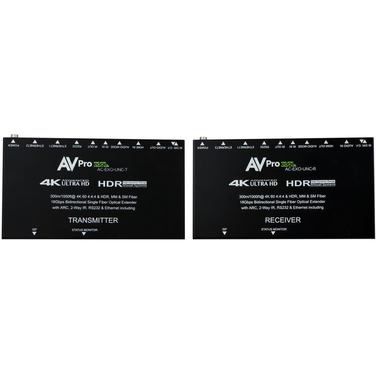 AVPro Edge Single Fiber Extender Kit for Multi-Mode & Single Mode Fiber ( 300 meter / 1000 feet ) AC-EXO-UNC-T