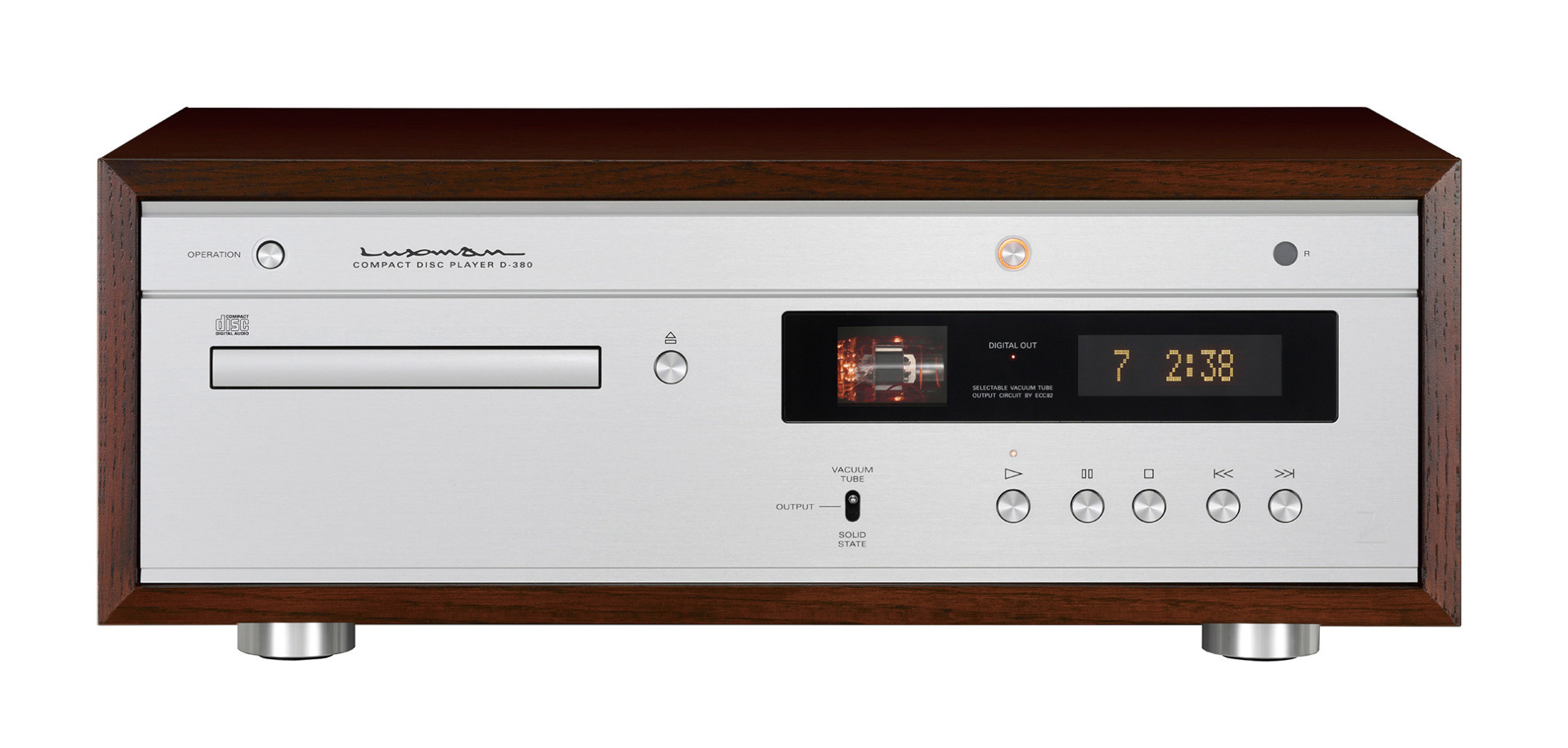 Luxman Vacuum Tube / Solid State CD-Player D-380