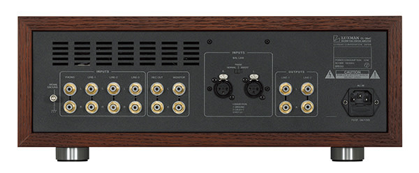 Luxman Vacuum Tube Control Amplifier CL-38uC