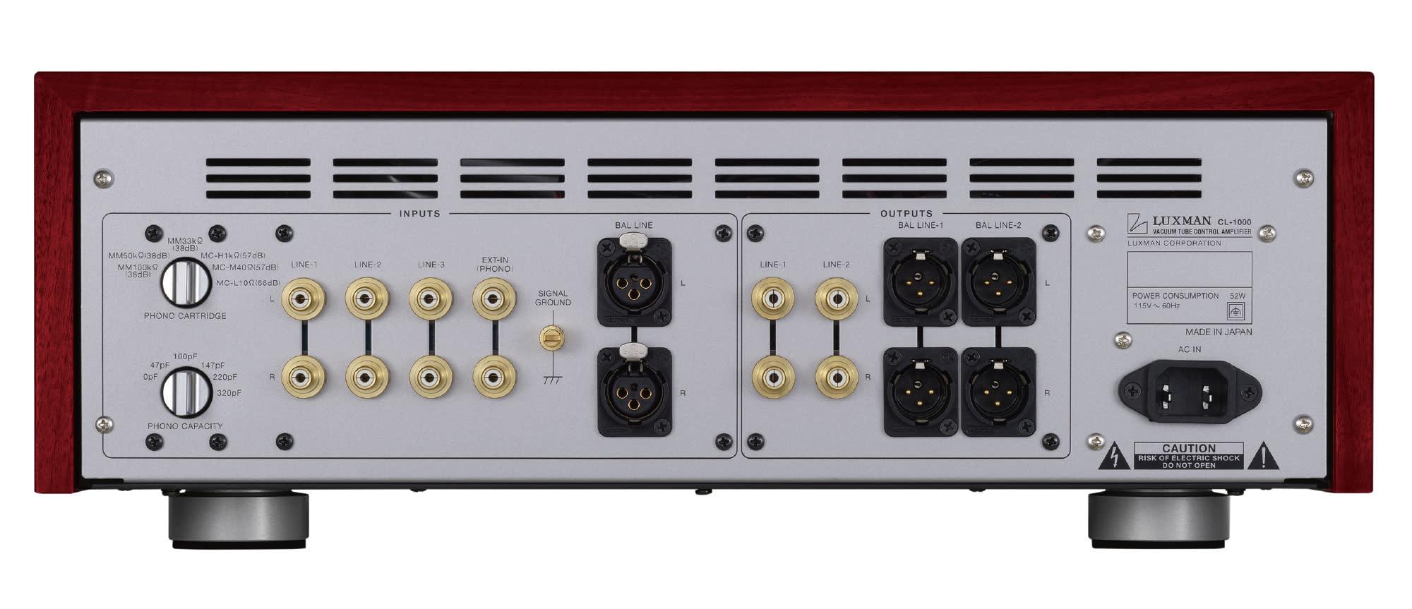 Luxman Vacuum Tube Control Amplifier CL-1000