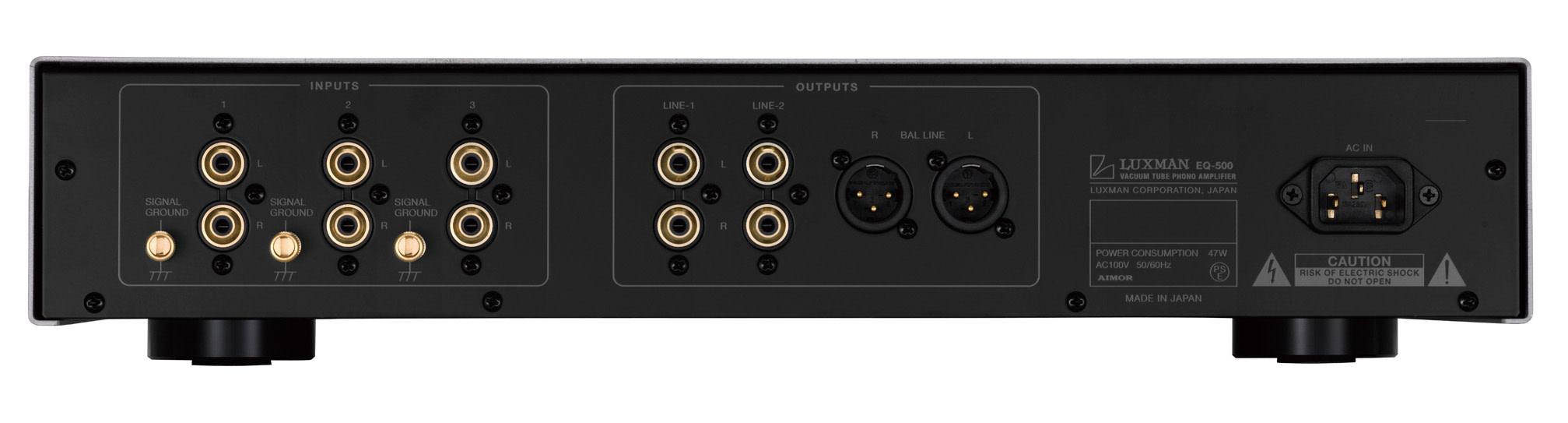 Luxman Phono Amplifier EQ-500