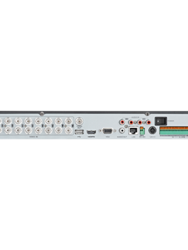 LTS Hybrid 4K , 16 Channel HD-TVI & 8 Channel IP NVR with 4TB Hard-drive