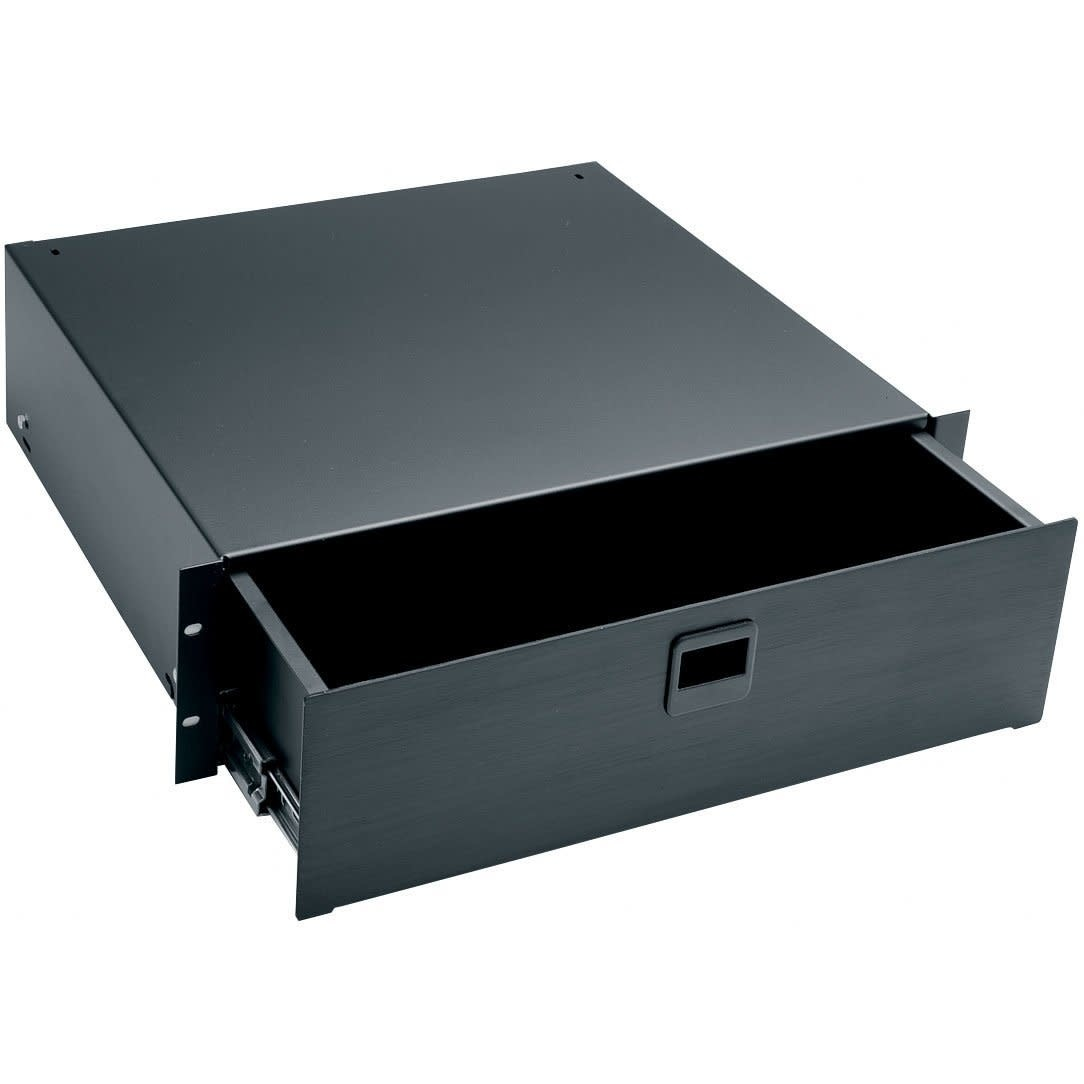 Middle Atlantic Products D3 3-Space Rack Drawer, Anodized