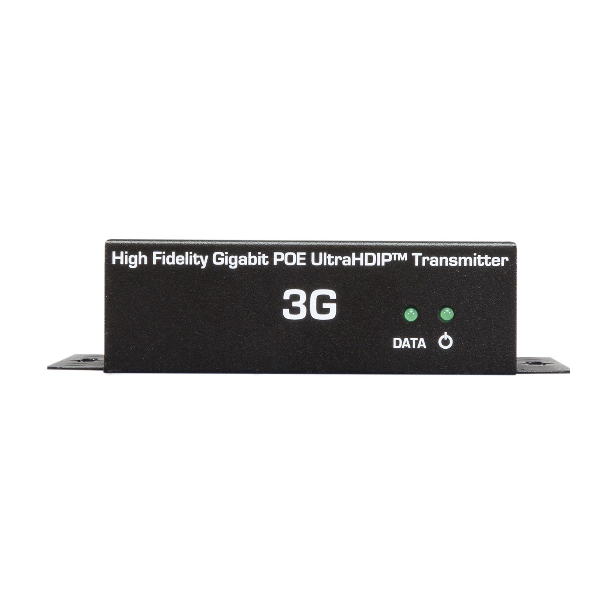 Just Add Power Ultra HD IP Gigabit POE Transmitter, 3G 707POE TX