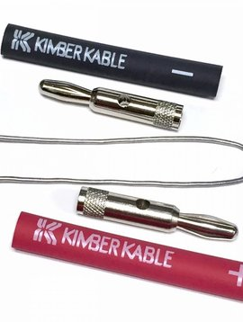 Kimber Kable Banana Plug 4 mm, Sold Each