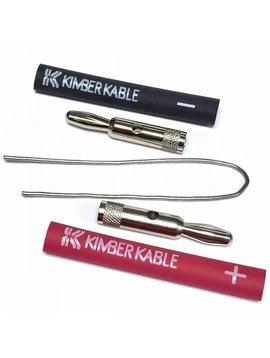 Kimber Kable Banana Plug 4 mm, Sold Each