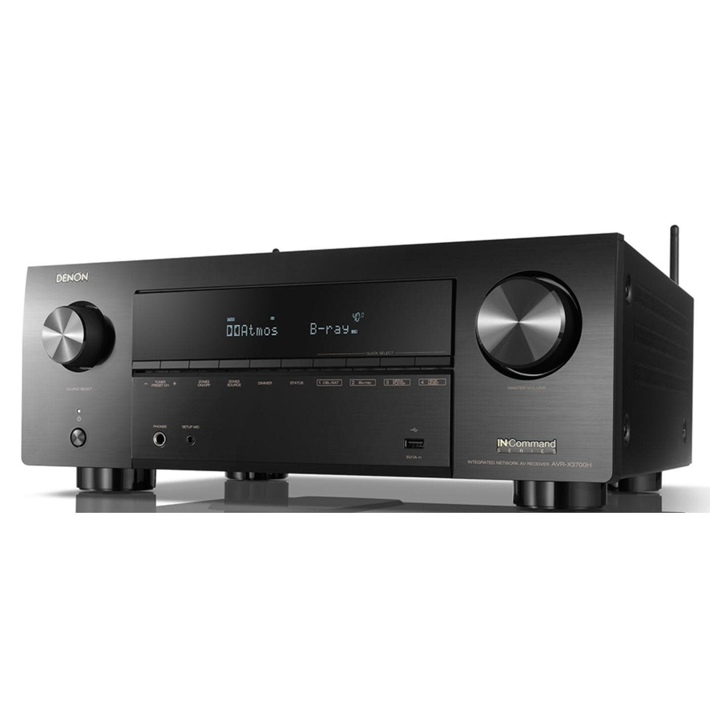 Denon AVR-X3700H 9.2 Channel 8K AV Receiver