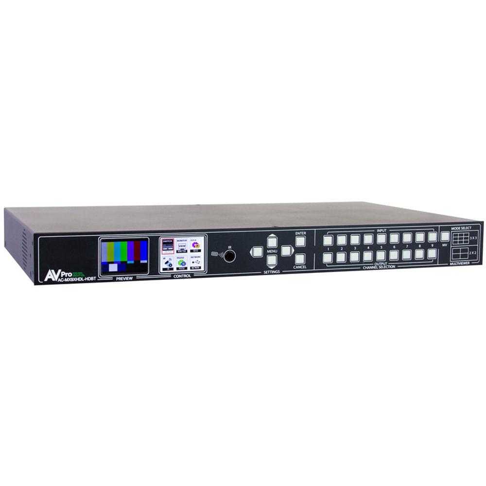 AV Pro Edge AC-MX9XHDL-HDBT Generation 2, Cloud 9: High Definition Loop Mass Media Matrix