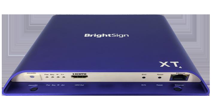 Brightsign XT244 Standard I/O 4K, HDR 10+, DolbyVision Digital Signage Player