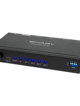 Binary B-230 1 x 4 HDMI  Splitter