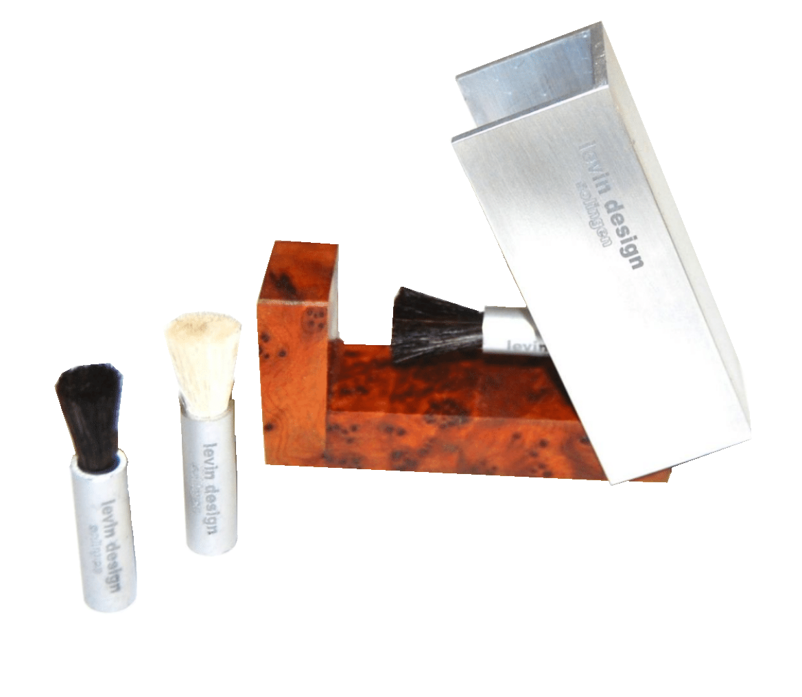 Levin Design Cartridge Brush (including matching case)