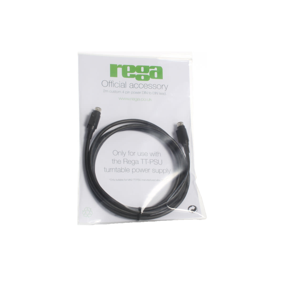 Rega Research TT-PSU Replacement Cable
