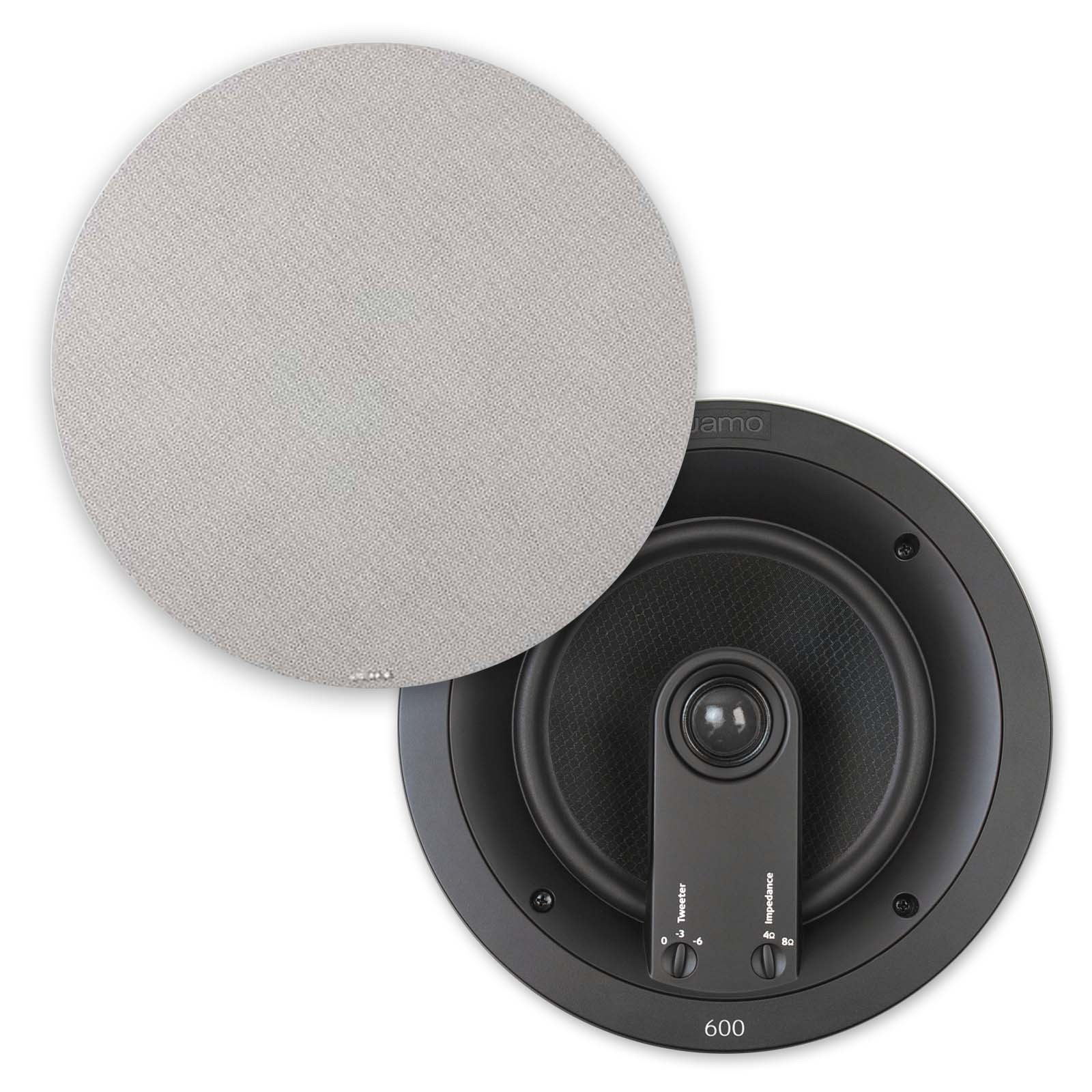 "Jamo IC 608 FG  8"" In-Ceiling Speaker, Pair"