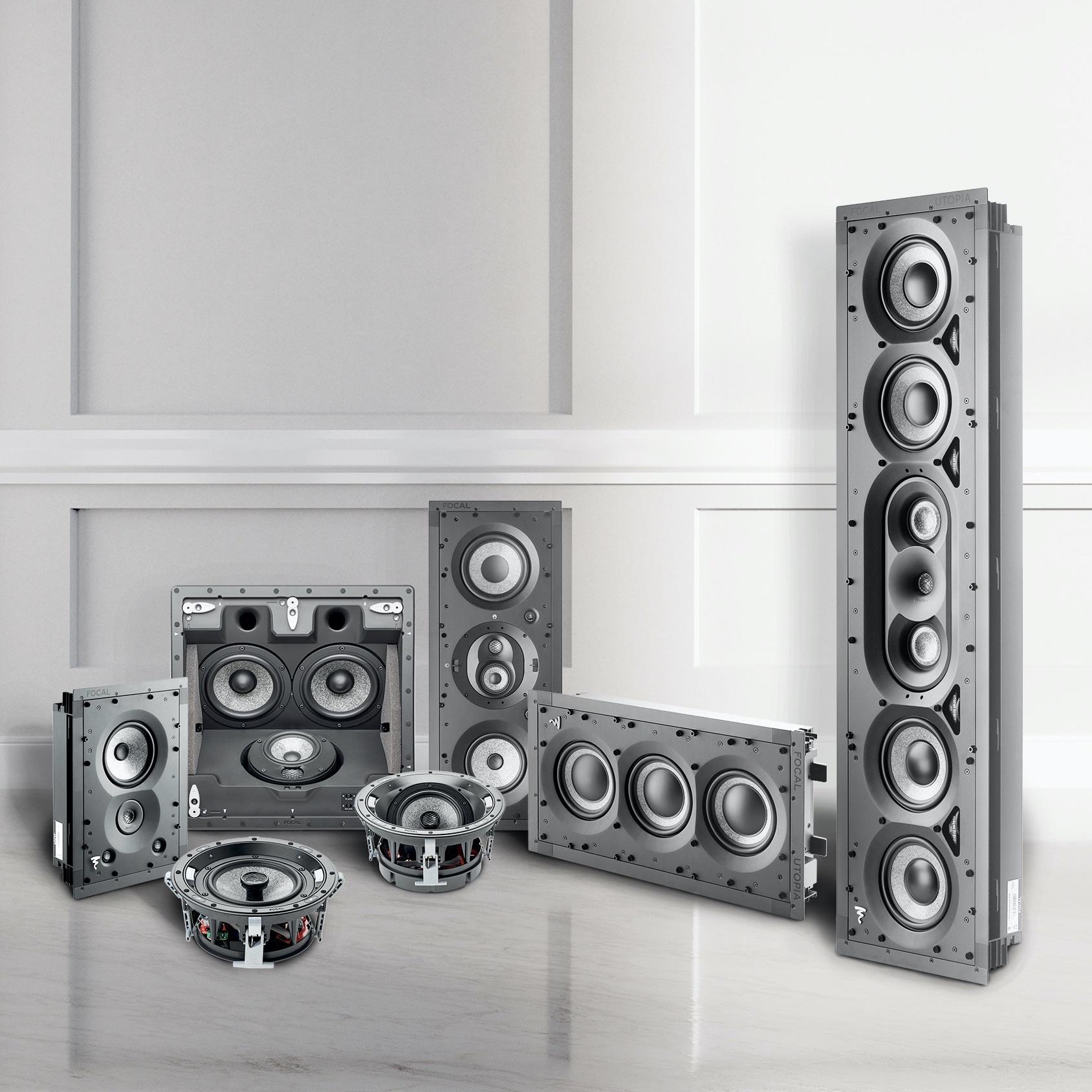 Focal 1000 IWLCR  Utopia In-wall Speaker