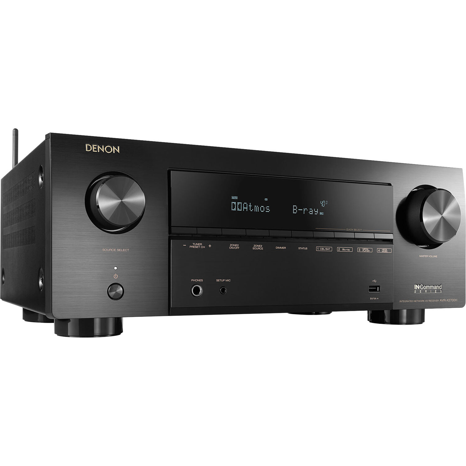 Denon AVR-X2700H 7.2 Channel 8K AV Receiver