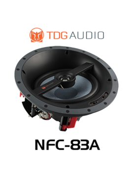 "TDG Audio NFC-83A Angled 8"" In-Ceiling Speaker"