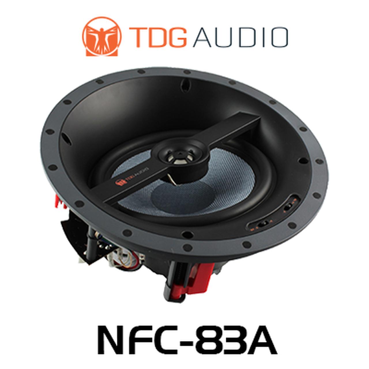 "TDG Audio NFC-83A Angled 8"" In-Ceiling Speaker"