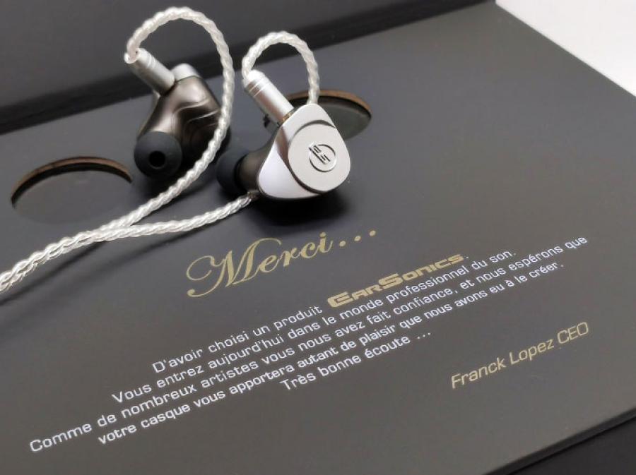 Earsonics Stark Hybrid  In-Ear Headphones