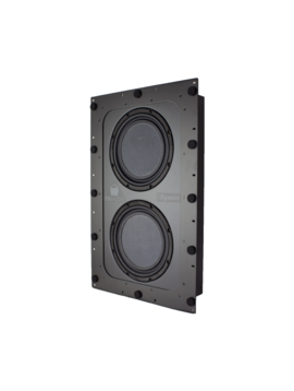 "TDG Audio Signature Series In-Wall Dual 10"" Subwoofer"